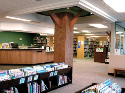 Interior of Perry Creek Library
